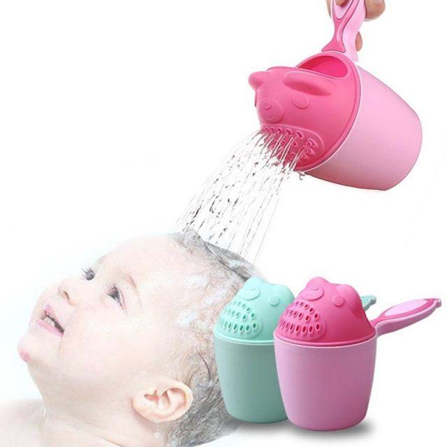 Tazas de baño para bebés con forma de oso