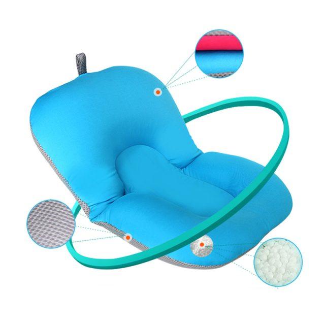 Alfombra de baño suave antideslizante para bebés