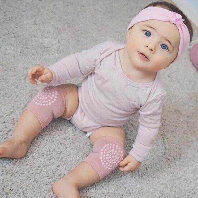 Rodilleras protectoras para bebés, calentadores