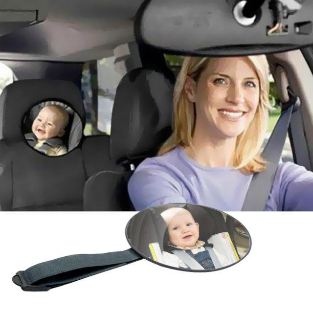 Espejo de vigilancia de bebés para el coche