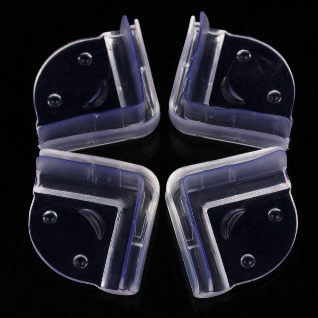 Juego de protectores de seguridad para esquinas en silicona