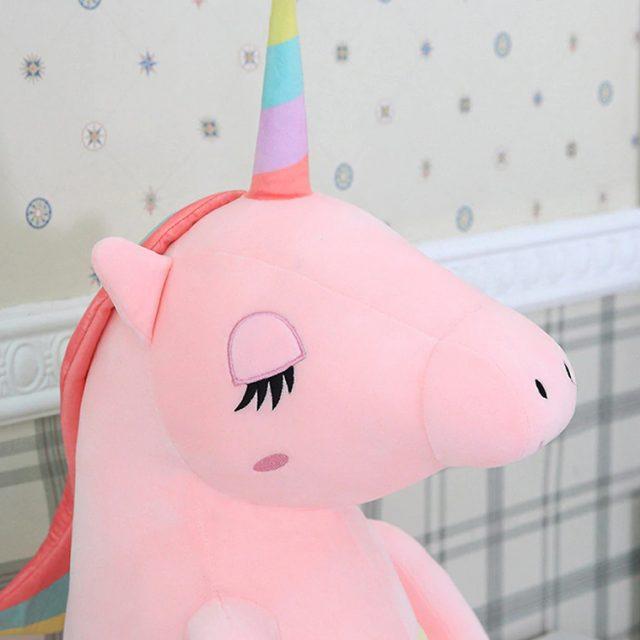 Juguete en forma de unicornio suave de felpa