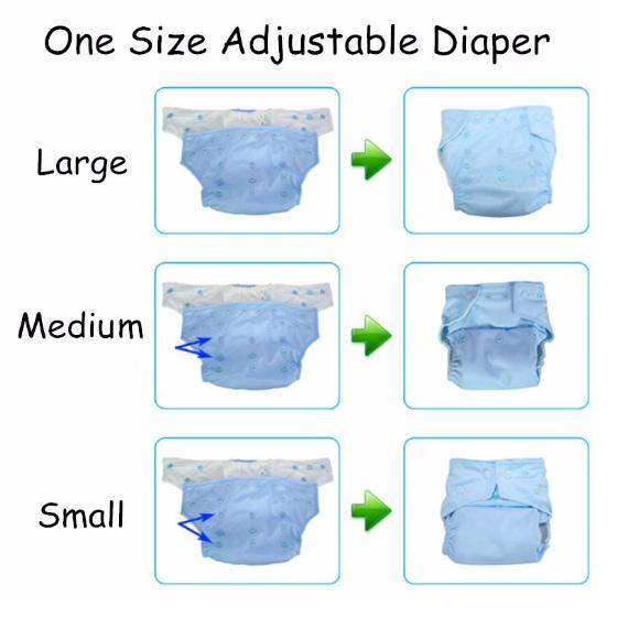 Pañales impermeables reutilizables varios modelos